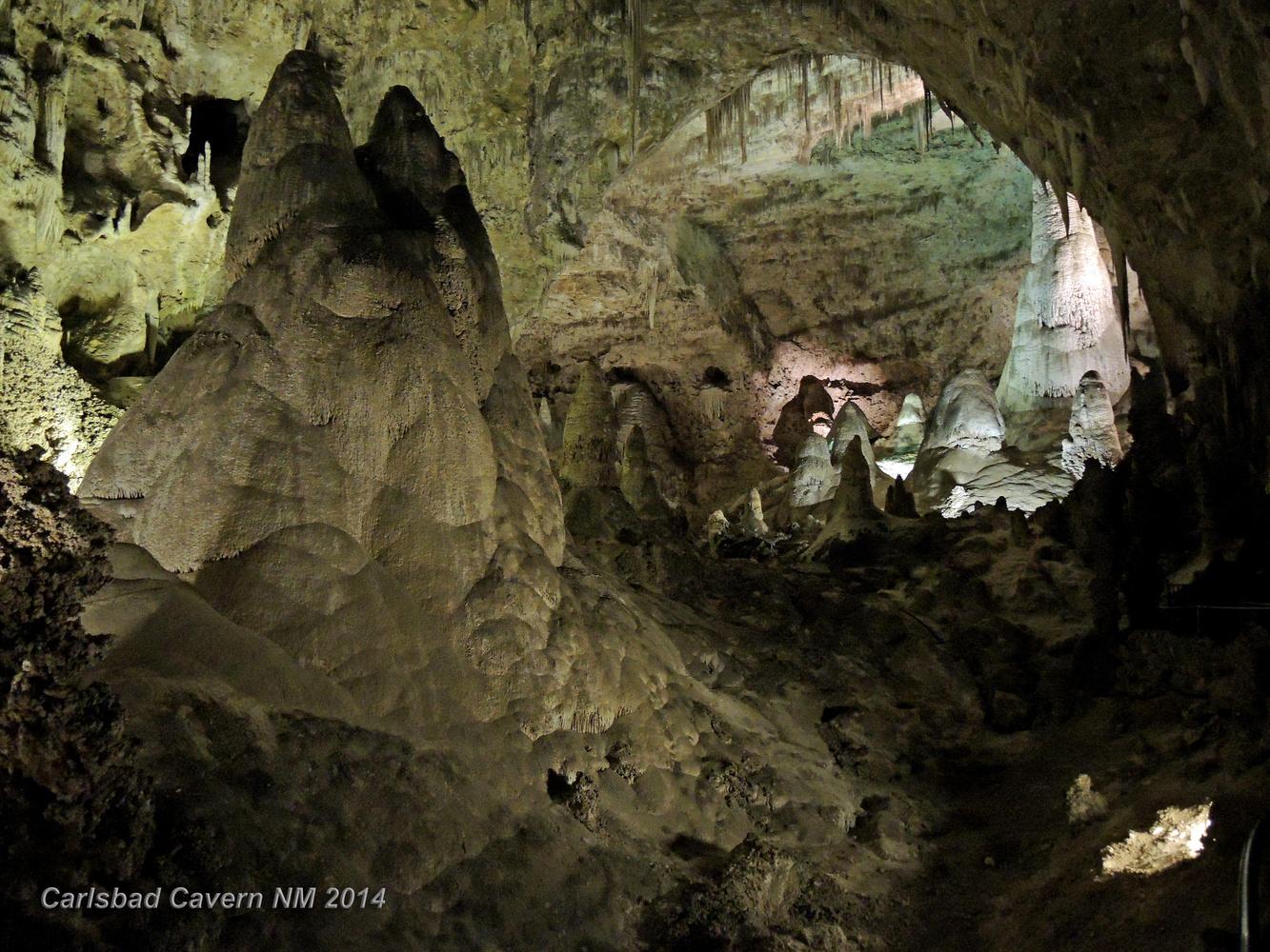 Carlsbad Cavern, New Mexico by Charles Haacker