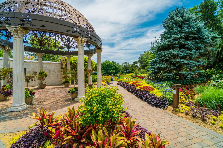 Sunken Gardens, Lincoln NE by Charles Haacker