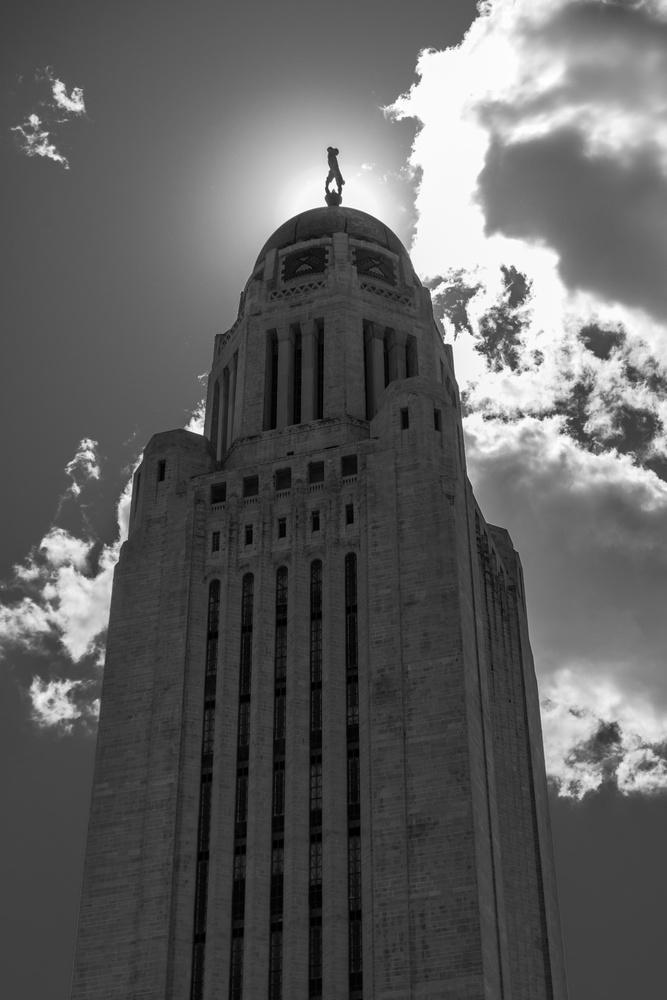 Nebraska State Capitol by Charles Haacker