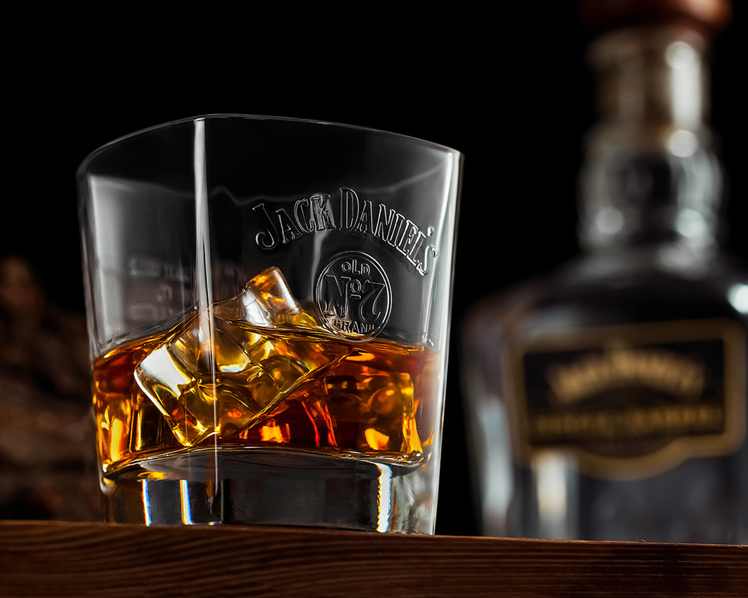 Jack Daniel's on the rocks by Juriy Kolokolnikov