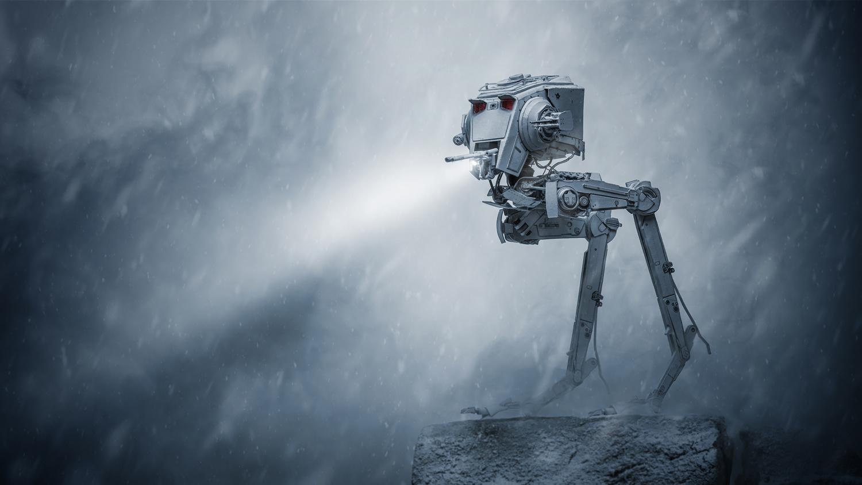 Snow storm on Hoth by Juriy Kolokolnikov
