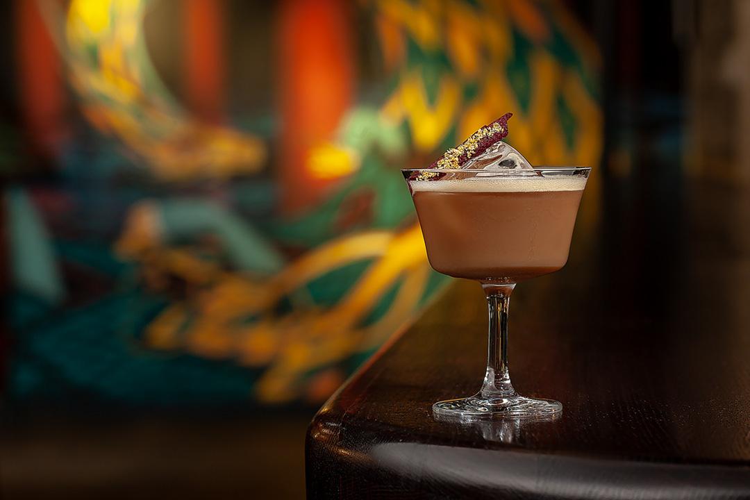 Sahara Dessert cocktail  by Juriy Kolokolnikov