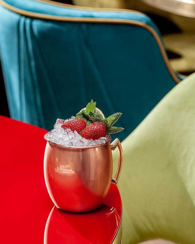 Strawberry Moscow Mule by Juriy Kolokolnikov