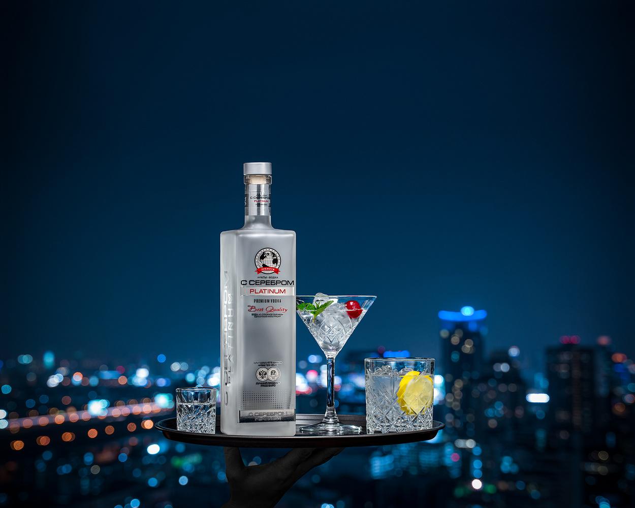 "Vodka ""S Serebrom"" (with silver) by Juriy Kolokolnikov"