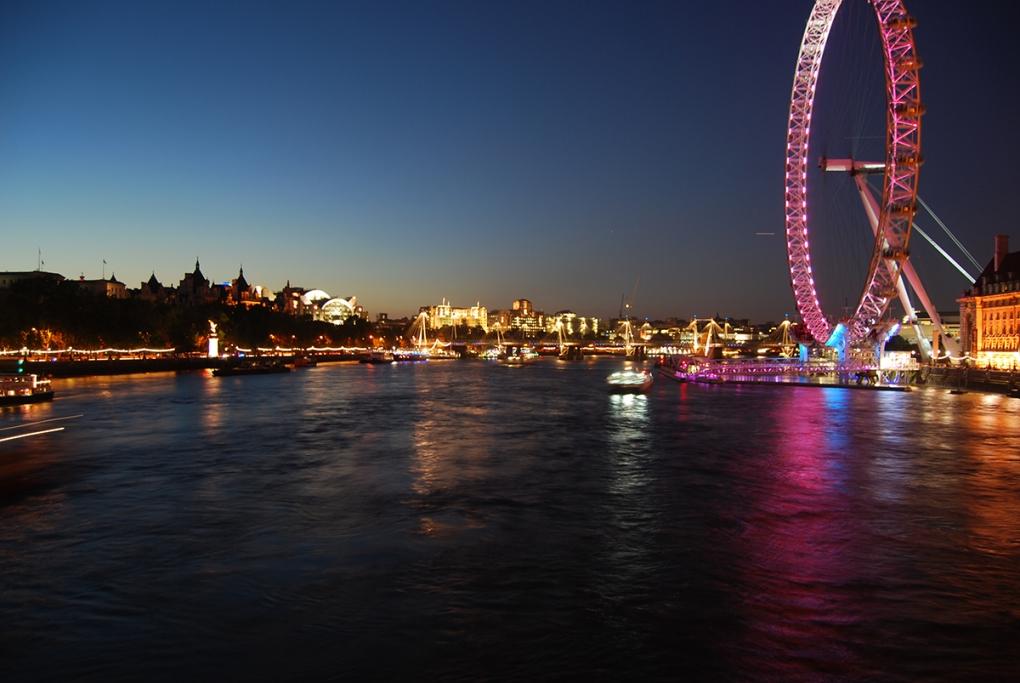 London Eye by Peter Roos