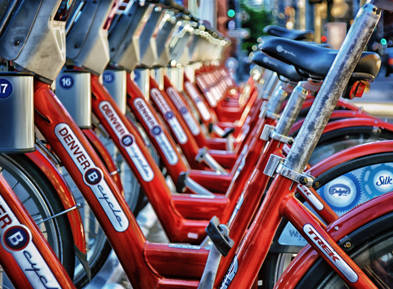 Denver B Cycles by Brian Kerls