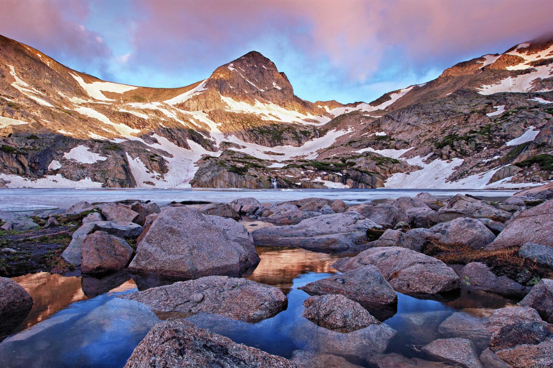 Blue Lake Sunrise by Brian Kerls