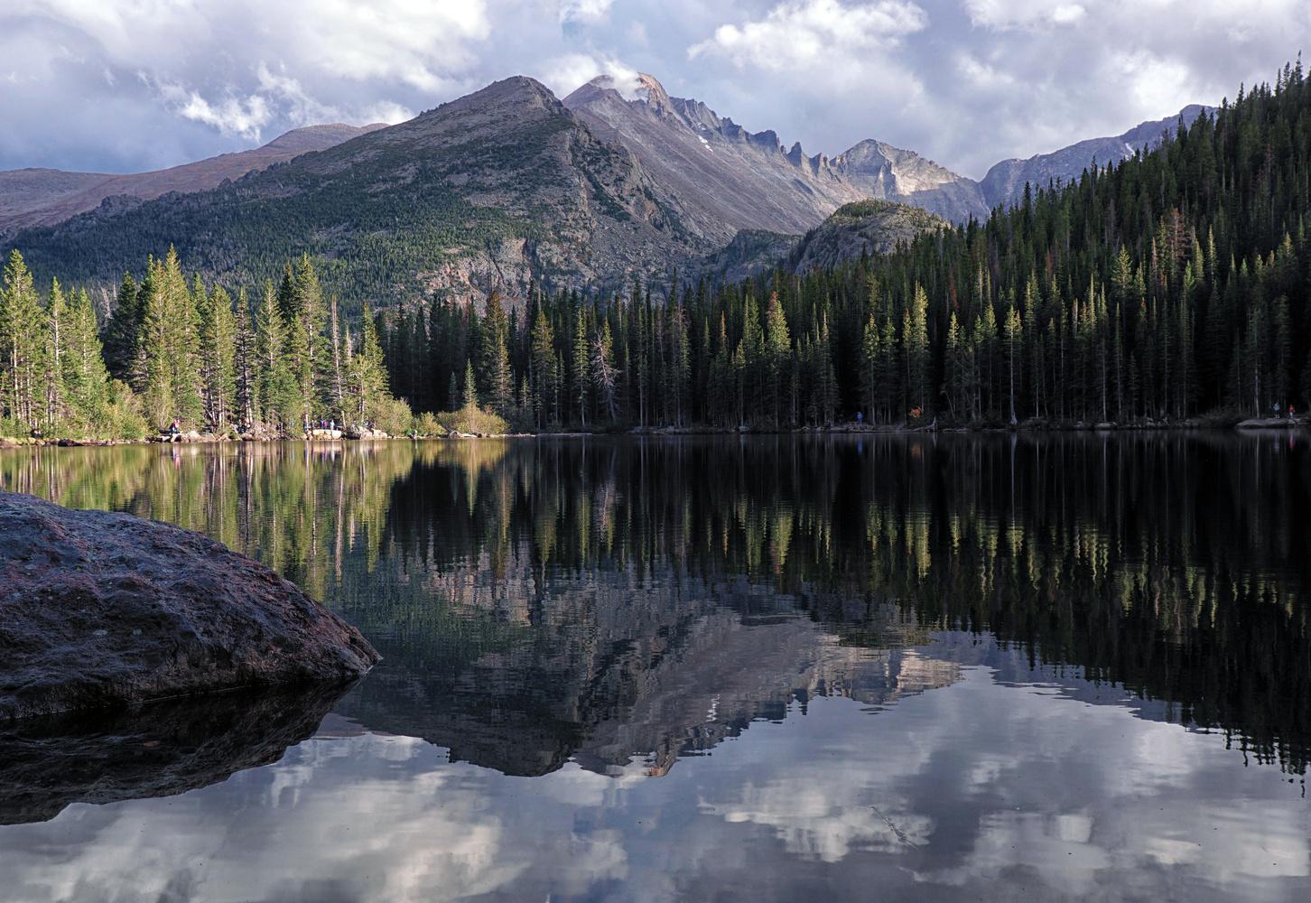 Longs Peak Reflection by Brian Kerls