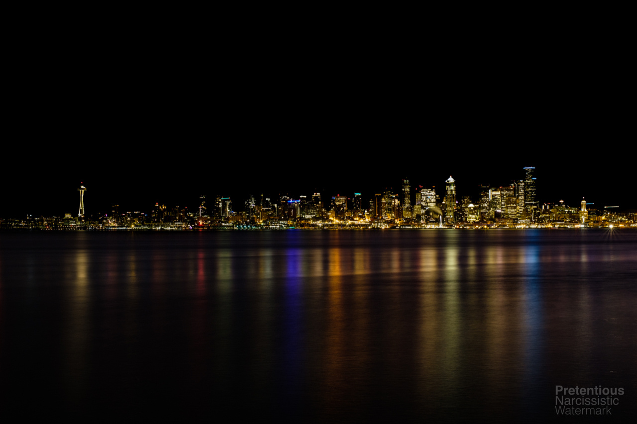 Downtown from West Seattle by JetCity Ninja