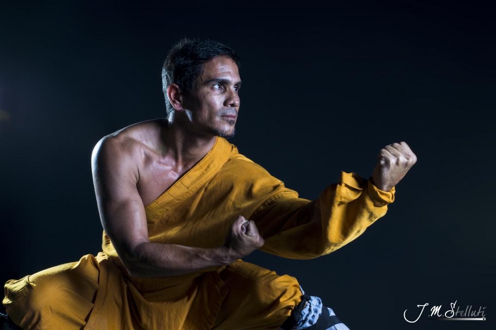 Portrait- Kung fu Master by Jose Miguel Stelluti