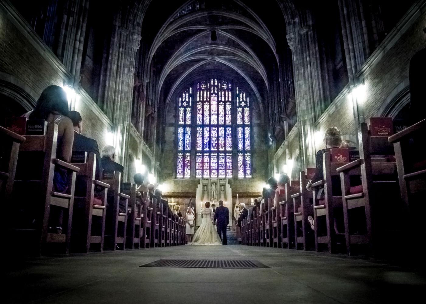 Wedding at The Cadet Chapel West Point by Stephen Cihanek