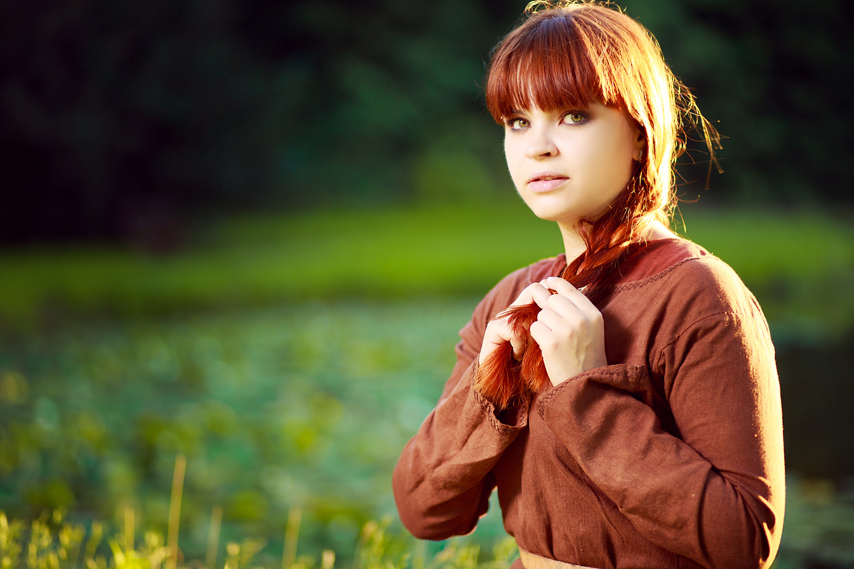 Slavic girl by Damian Matyja