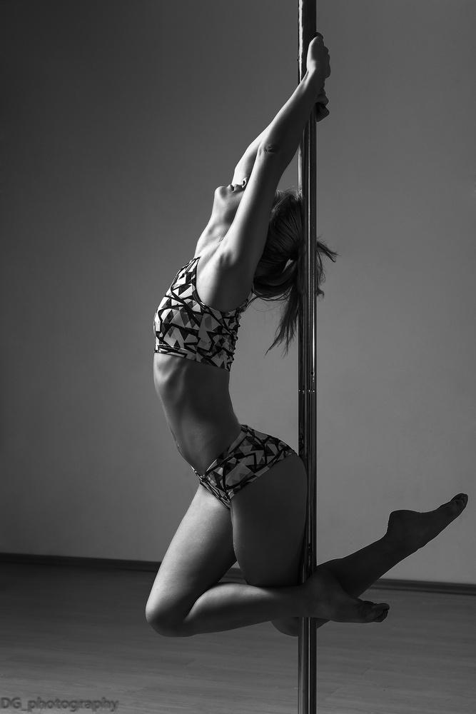 Pole dancer by Damian Matyja