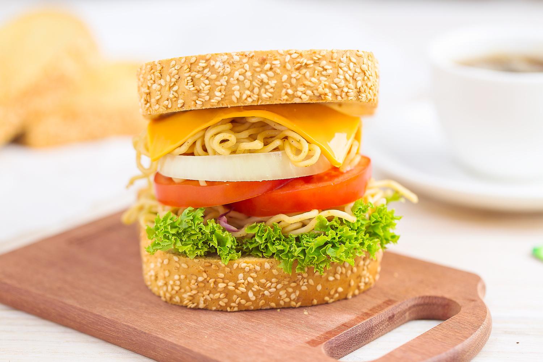 Burger by Akwesi Baah