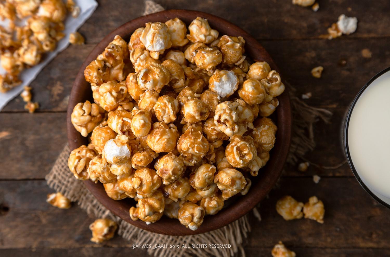 Caramel Pop corn by Akwesi Baah
