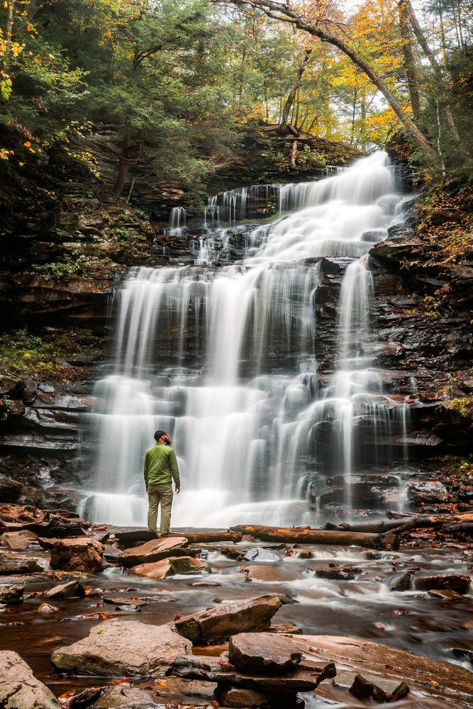 Ricketts Glen State Park by Mark Rutt
