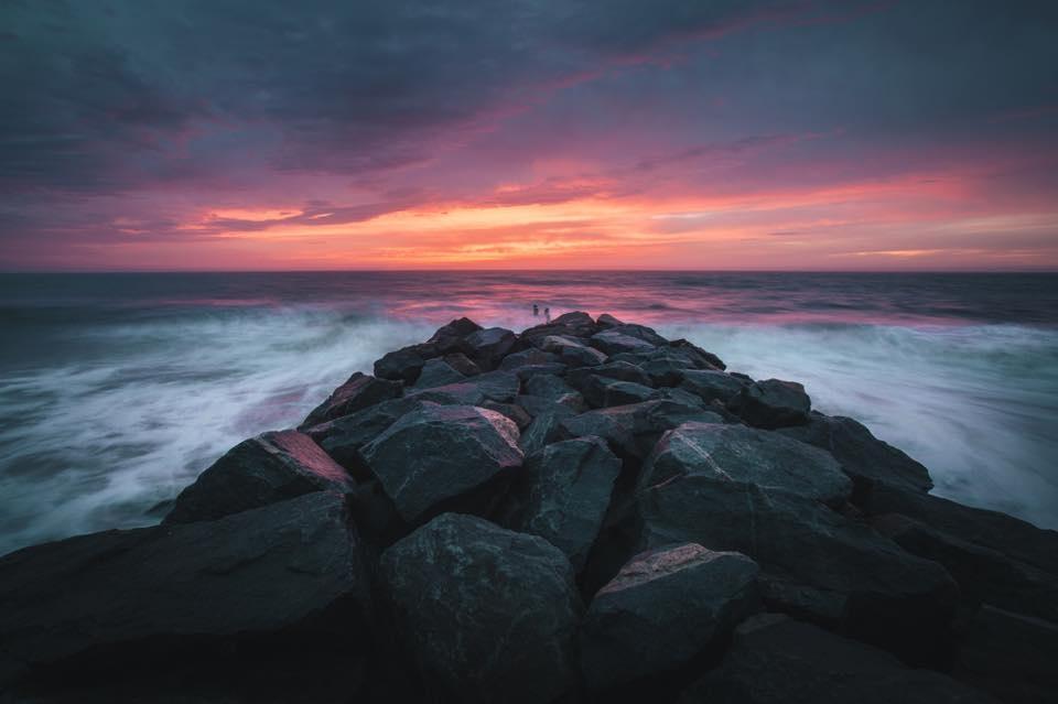 Sunrise on the Coast by Mark Rutt