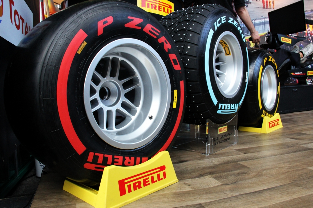 Pirelli F1 Demo by Ryan Jones
