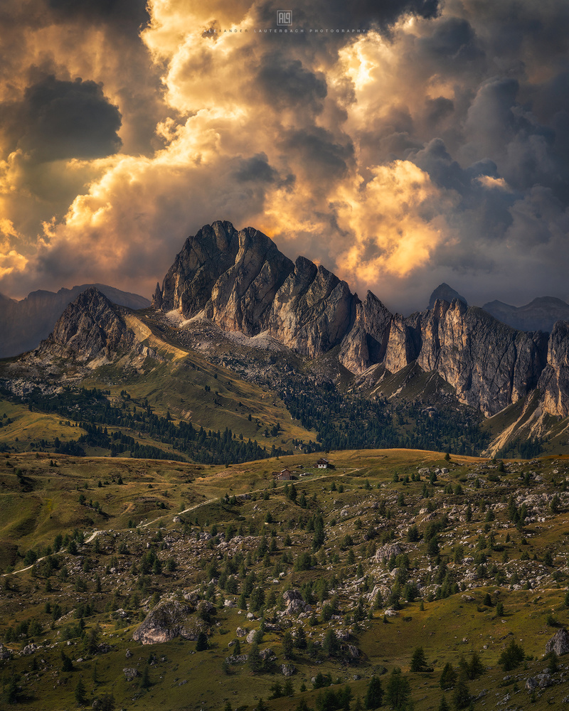 Thundery Dolomites by Alexander Lauterbach