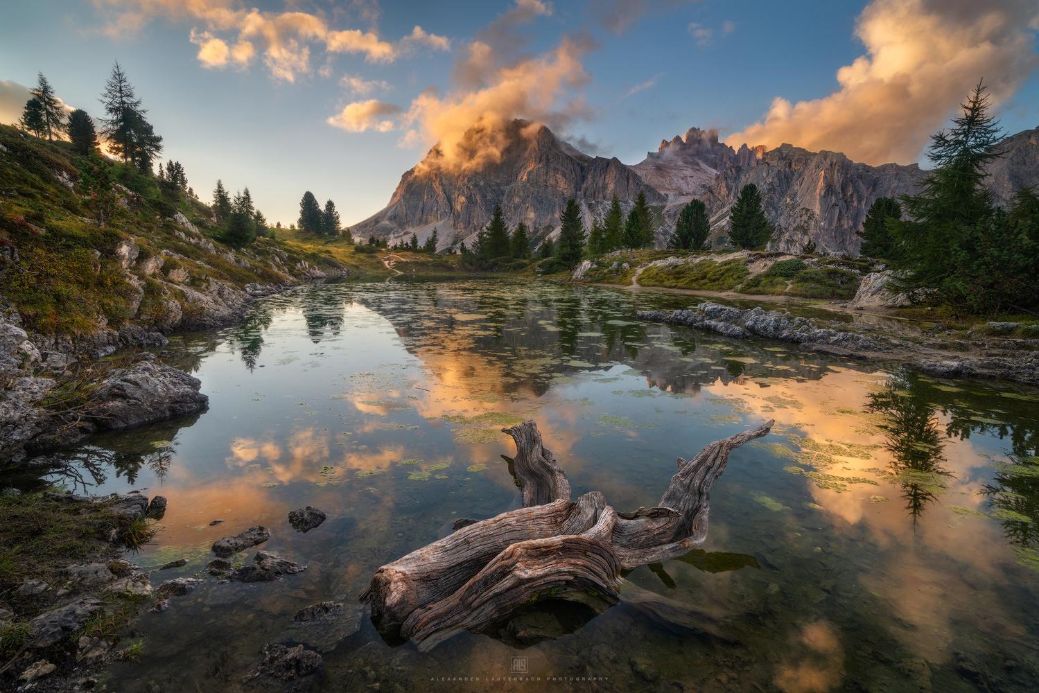 Lago di Limides by Alexander Lauterbach