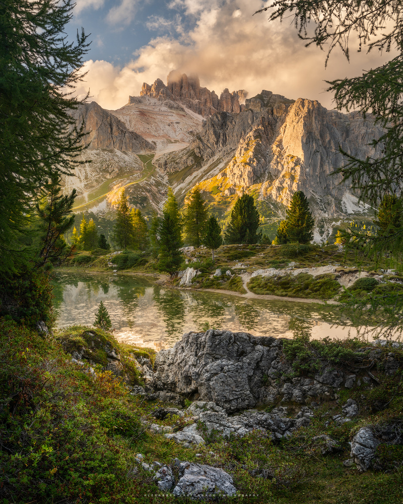 Postcard from the Dolomites by Alexander Lauterbach