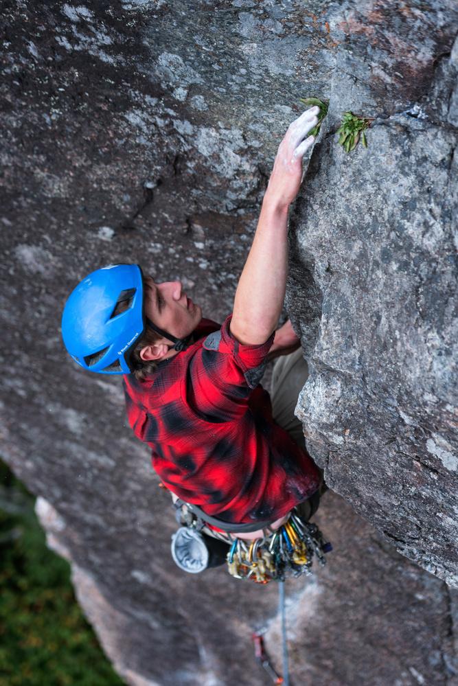 Rock Climbing by Tim Behuniak