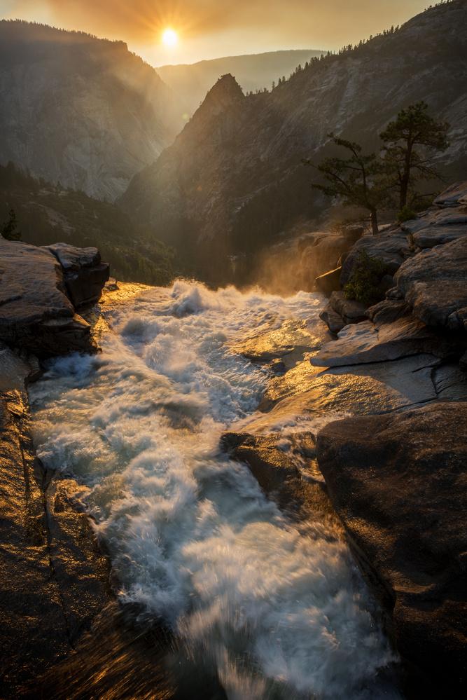 Nevada Falls by Tim Behuniak