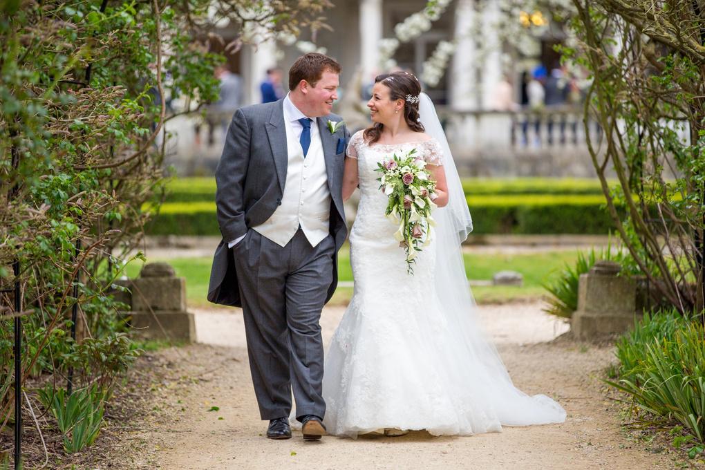 Bride and Groom Walk by Steve Urwin