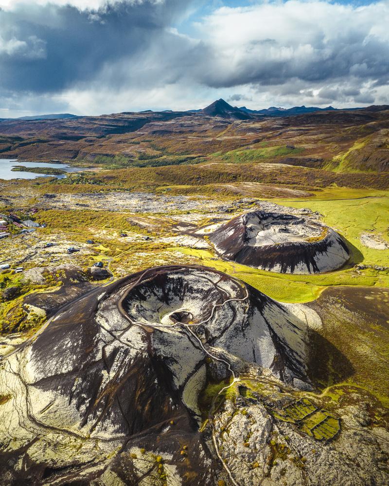 Grábrók craters by Arvids Baranovs