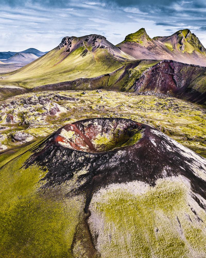 Landmannalaugar crater by Arvids Baranovs