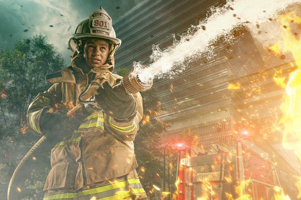 When I Grow Up Project- Firefighter by Brandon Cawood
