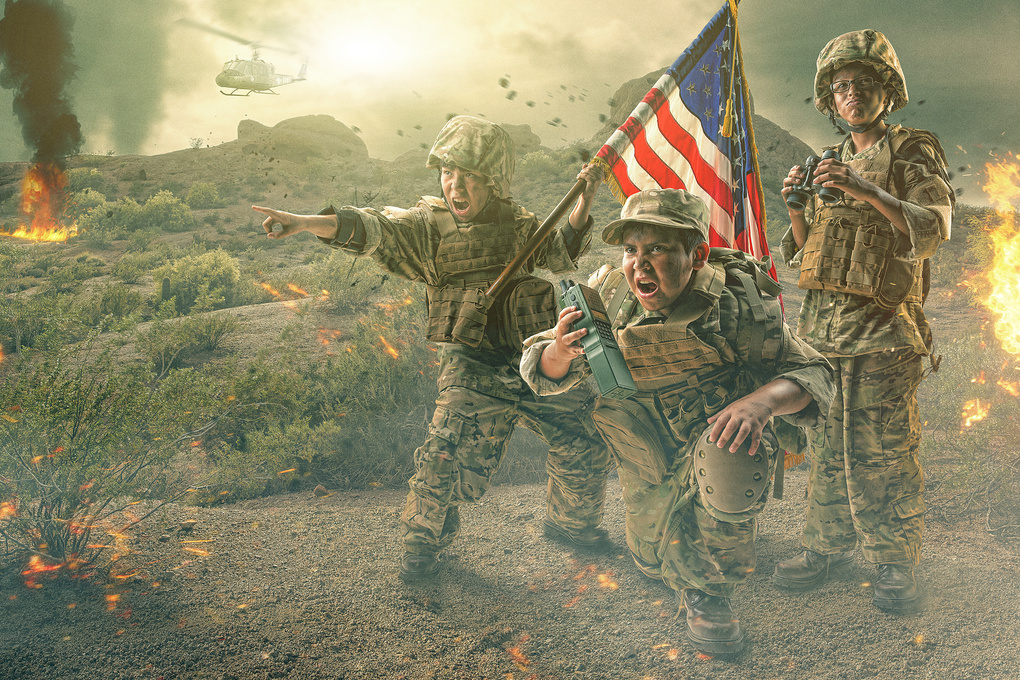 When I Grow Up Project- Military by Brandon Cawood