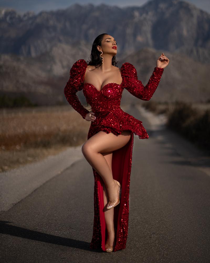 In red! by Ergys Shehu