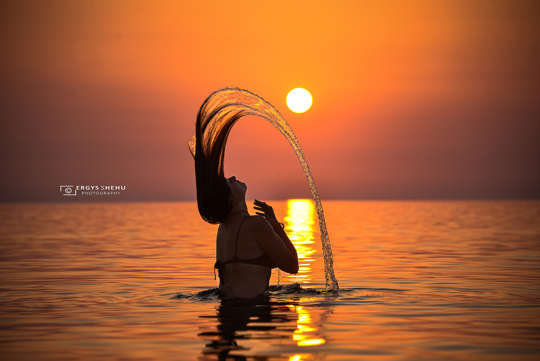 Sunset by Ergys Shehu