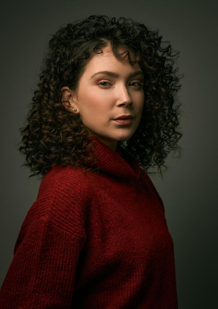 Nena's portrait by Jan Kruize