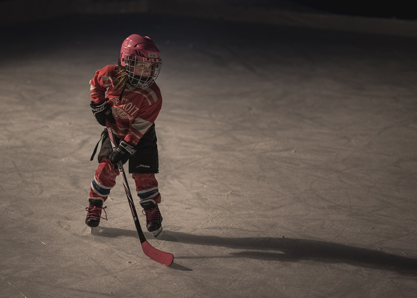 Smallest Hockey Star by Dave Harrell