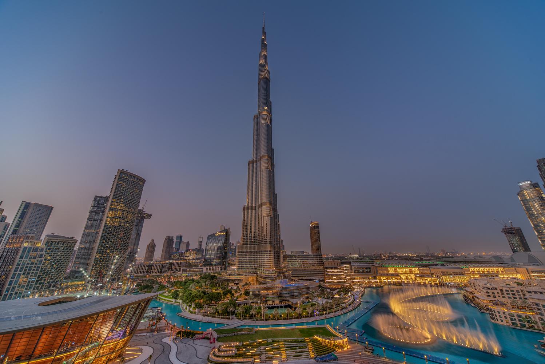 Almighty Burj Khalifa by Saim Aslam