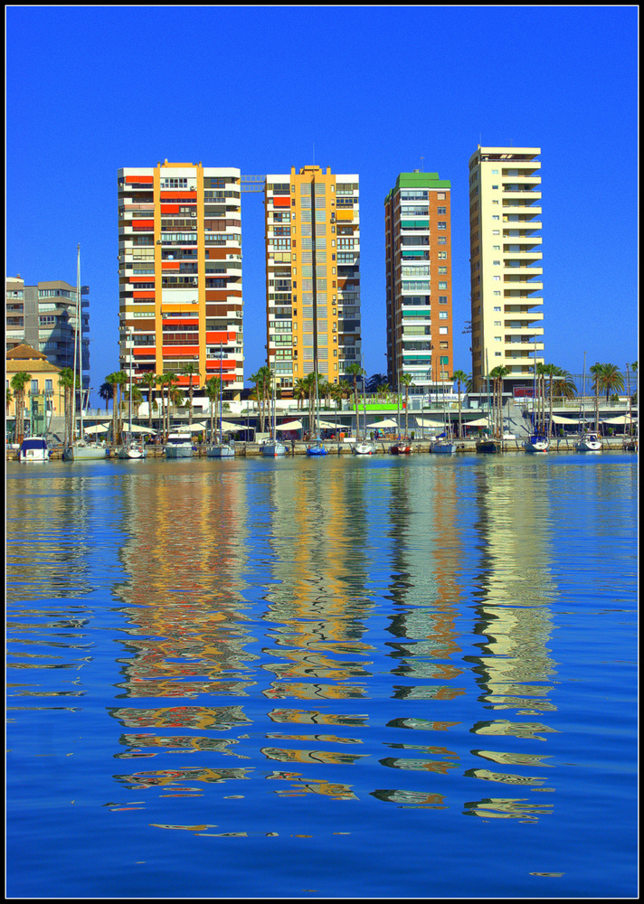 Malaga PortUntitled 1 by Anthony Pitt