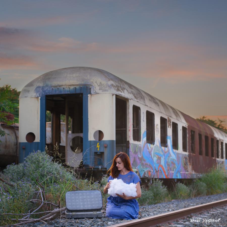 train cemetery by Nicki Panou