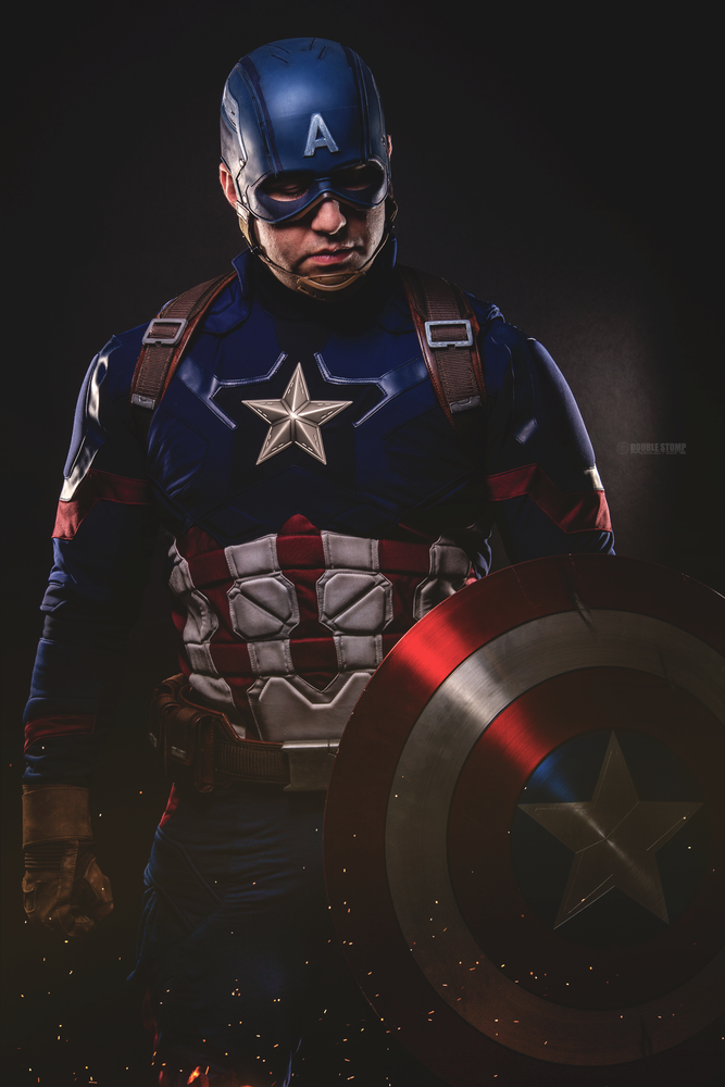 Captain America by Willie Brown