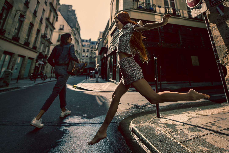 Barbie Crashing Paris by Edward CH Lai