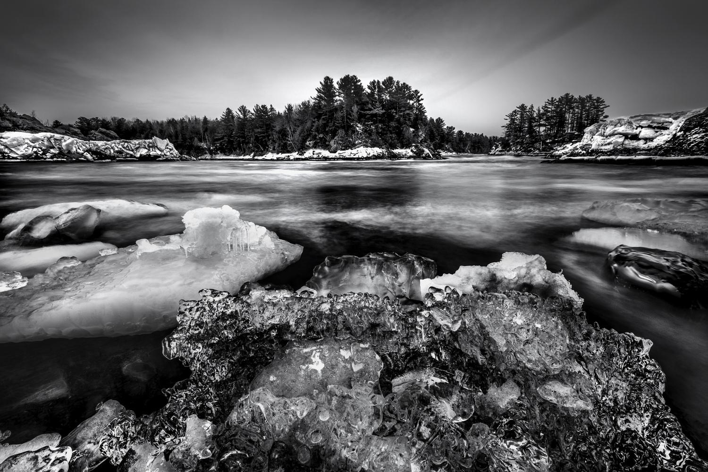 Rivière Chaudière by Stephen Clough