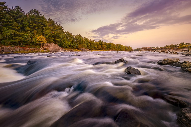 Rivière Chaudière, Quebec by Stephen Clough