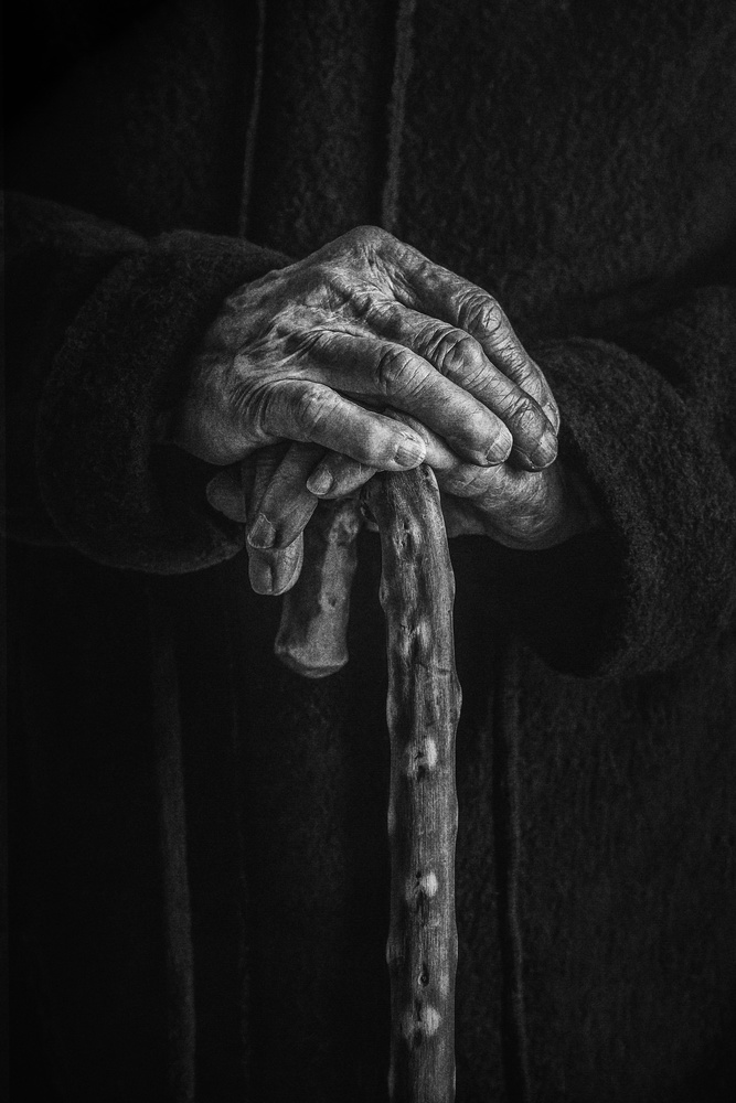 Old hands by Stephen Clough