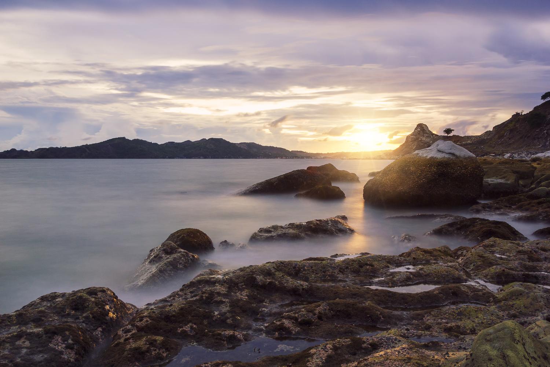Sisiman Bay by Marlon Malabuyoc