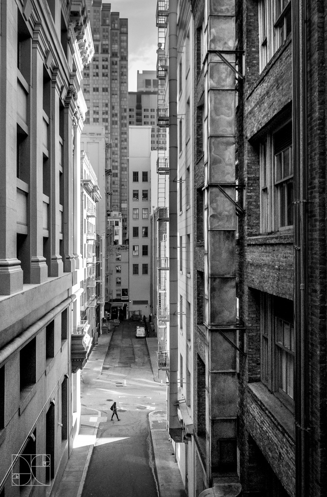 Alley with a View by Jesse Coleman