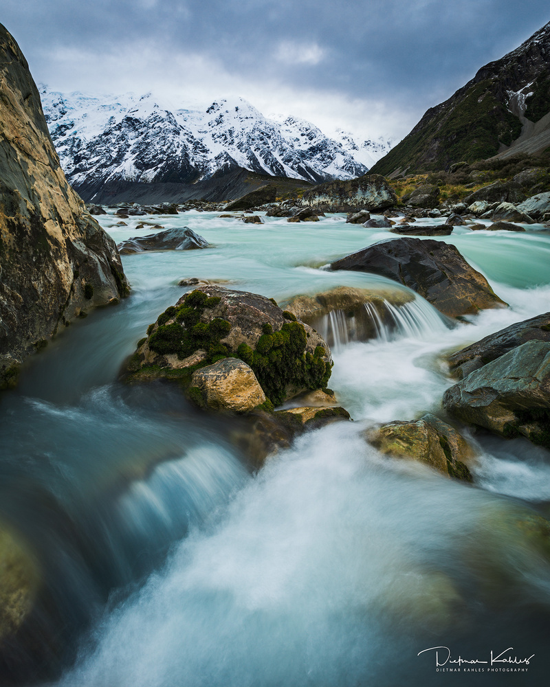 Moody afternoon at Mt Cook National Park by Dietmar Kahles