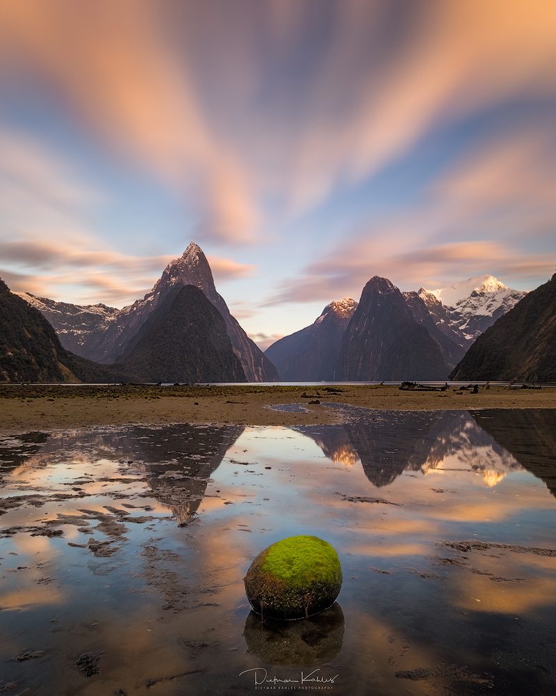 Milford Sound reflections by Dietmar Kahles