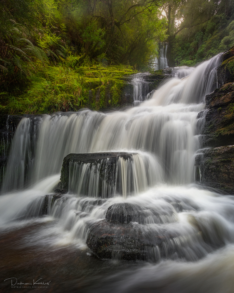 McLean Falls, New Zealand by Dietmar Kahles