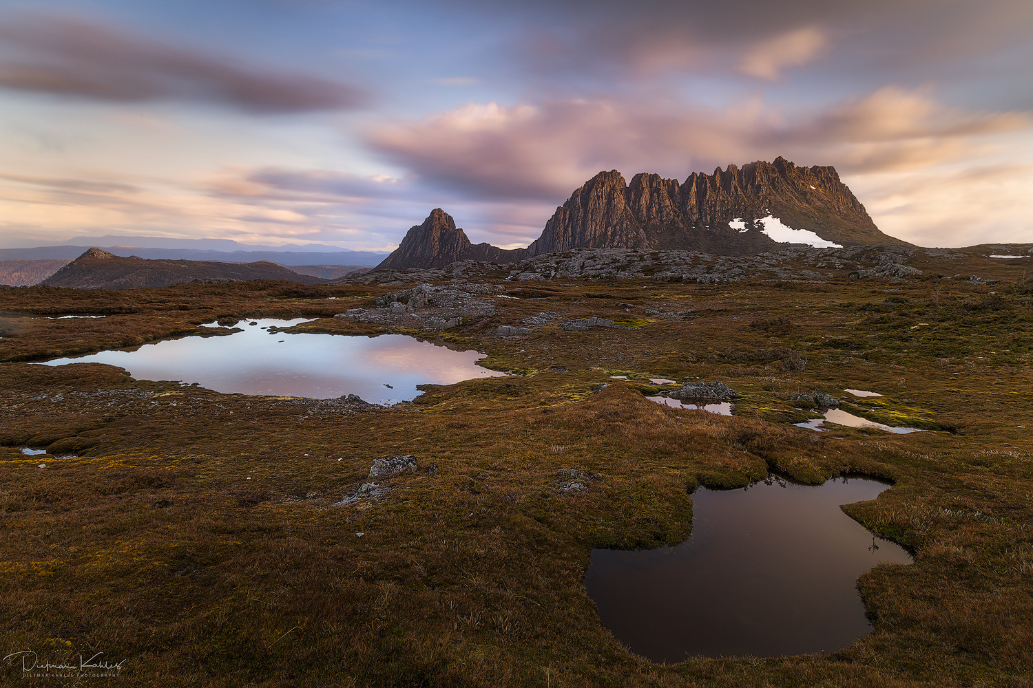Late afternoon on the plateau by Dietmar Kahles